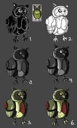Robot Owl progress