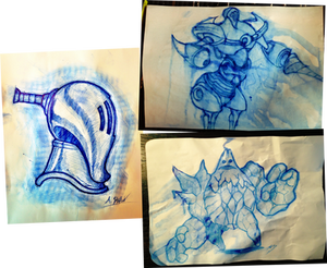 Ball Point Sketches