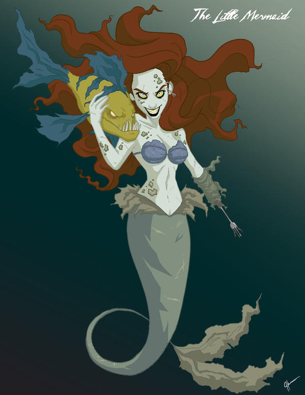 Twisted Princess: Ariel by jeftoon01