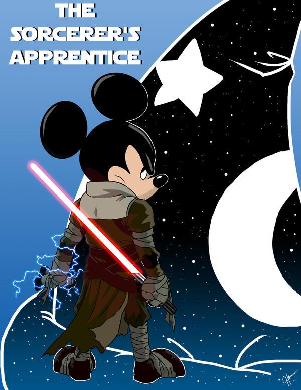 The Sorcerer's Apprentice by jeftoon01