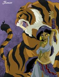 Twisted Princess: Jasmine by jeftoon01