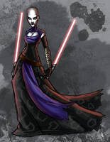 Sith Lord Ventress by jeftoon01