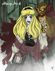 Twisted Princess: Aurora by jeftoon01
