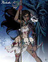 Twisted Princess: Pocahontas by jeftoon01