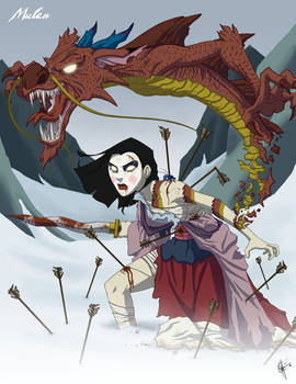 Twisted Princess: Mulan