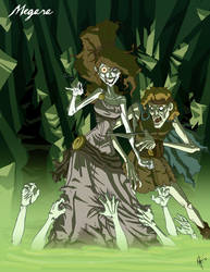 Twisted Princess: Megara by jeftoon01