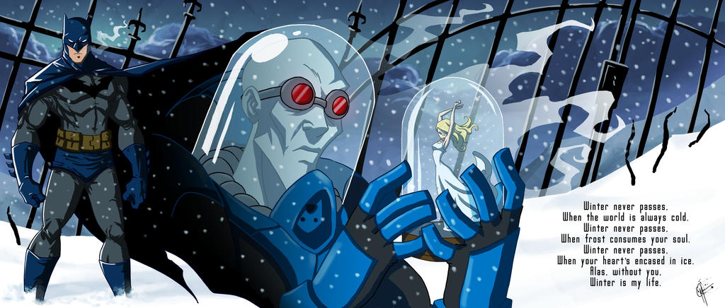 Arkham Portrait: Mr. Freeze