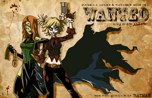 WANTED: Pam and Harley by jeftoon01