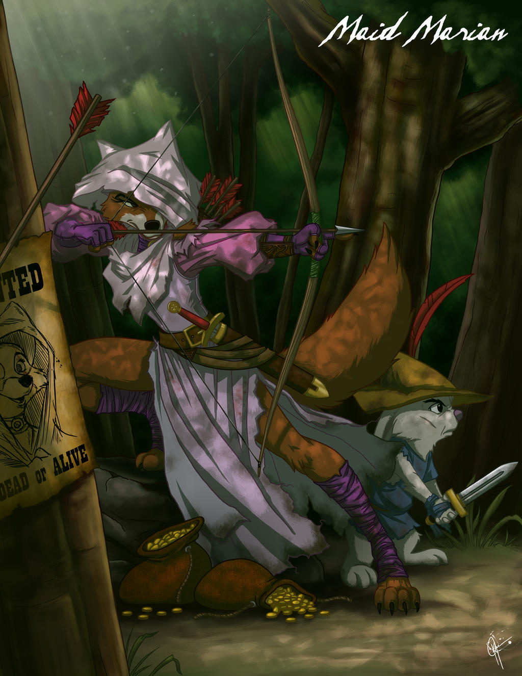 Twisted Princess: Maid Marian