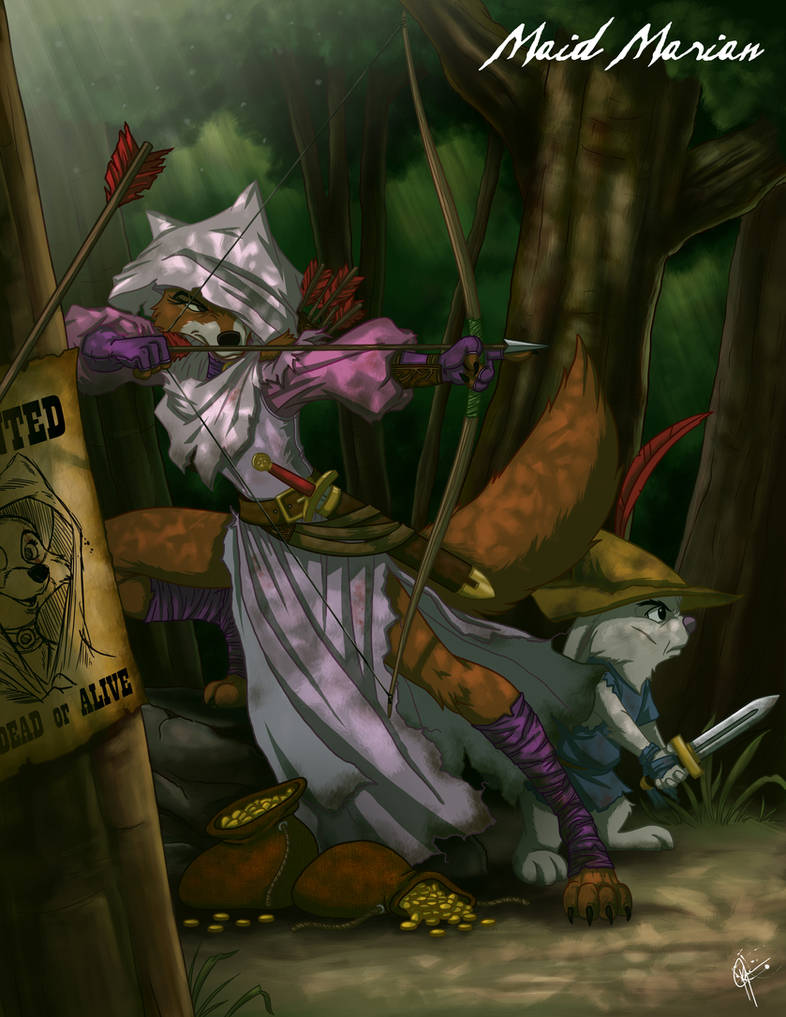 Twisted Princess: Maid Marian by jeftoon01