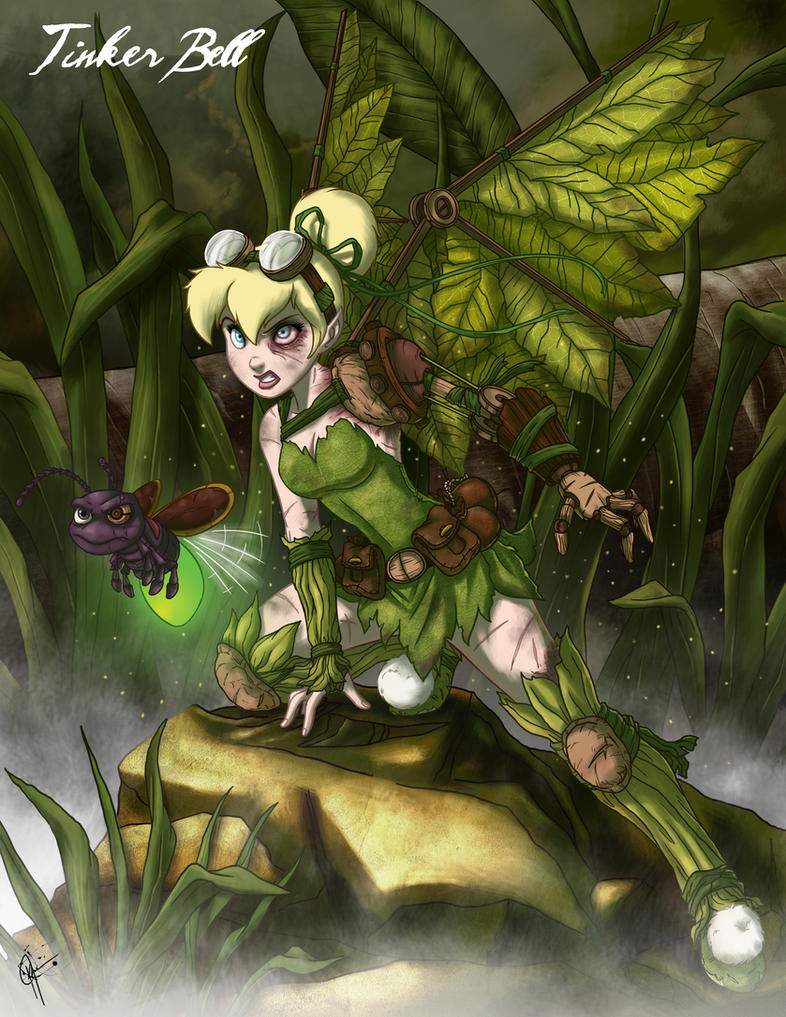 Twisted Fairies: Tinker Bell by jeftoon01