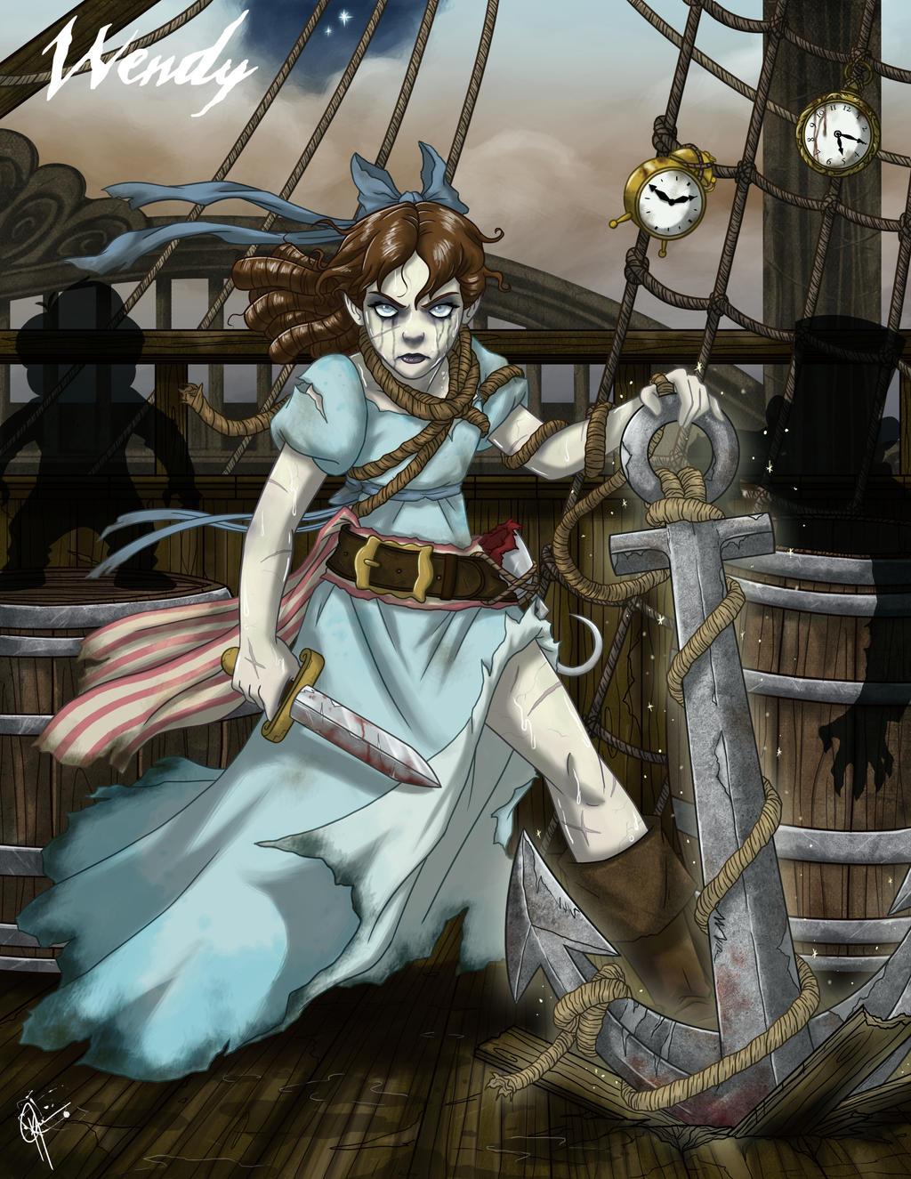 Twisted Princess: Wendy by jeftoon01