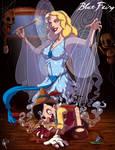Twisted Princess: Blue Fairy by jeftoon01
