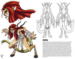 Darkstalkers Embrace the Dark: Amelia