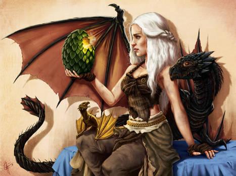 Daenerys Targaryen: Mother of Dragons