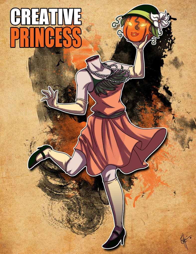 Creative Princess by jeftoon01