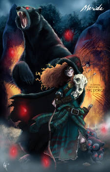 Twisted Princess: Merida