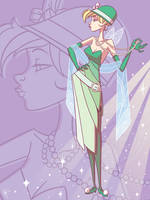Art of Tinker Bell: Flapper Bell by jeftoon01