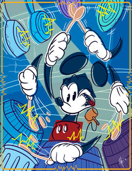 Art of Mickey Mouse: Feel the Beat by jeftoon01