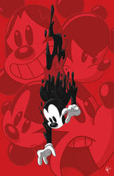 Art of Mickey Mouse: Freefall by jeftoon01