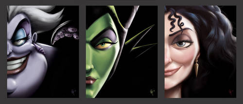 Disney Villains Covers by jeftoon01