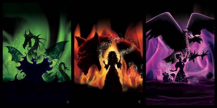 Kingdom Keepers: The Return Series Covers