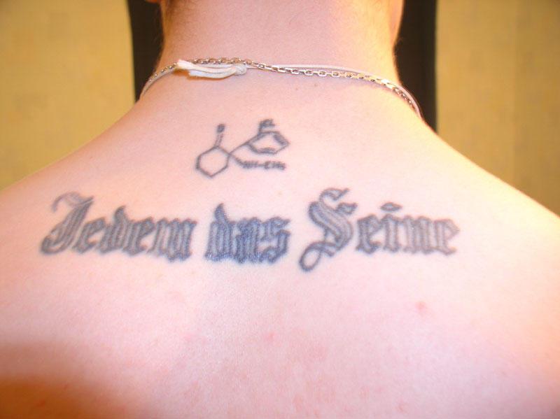Красивые фразы на немецком с переводом для татуировки
