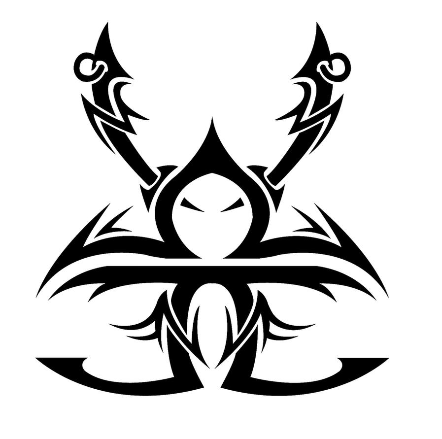 Taurus libra gemini tribal by kuroakai on deviantart for Gemini tribal tattoo
