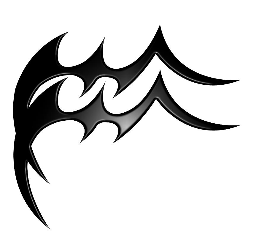 Aquarius Symbol Tattoo Tribal