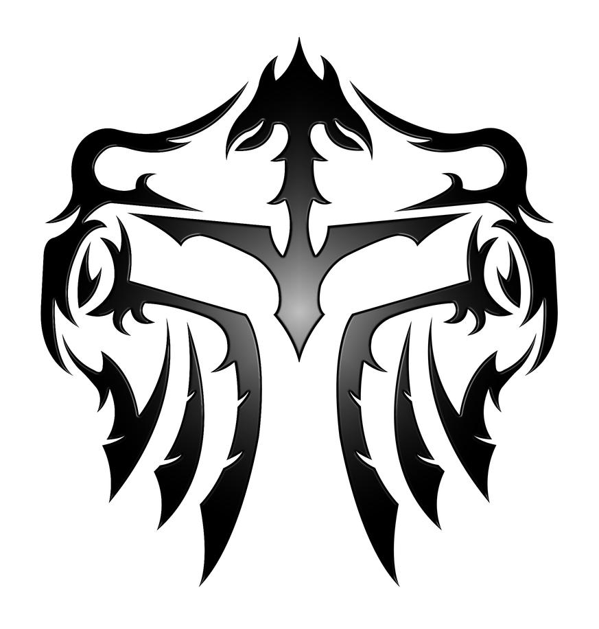 Helm tribal by kuroakai on deviantart for Helm design