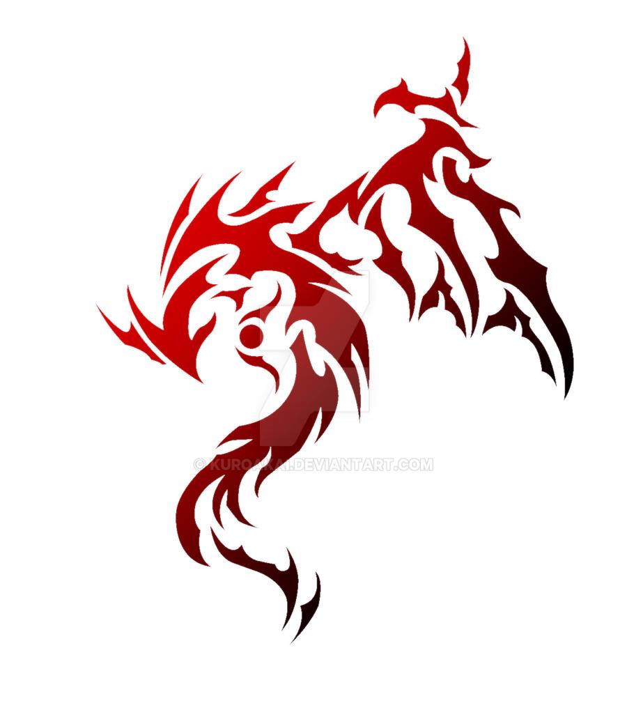 Viking Wings Back Tattoo Designs