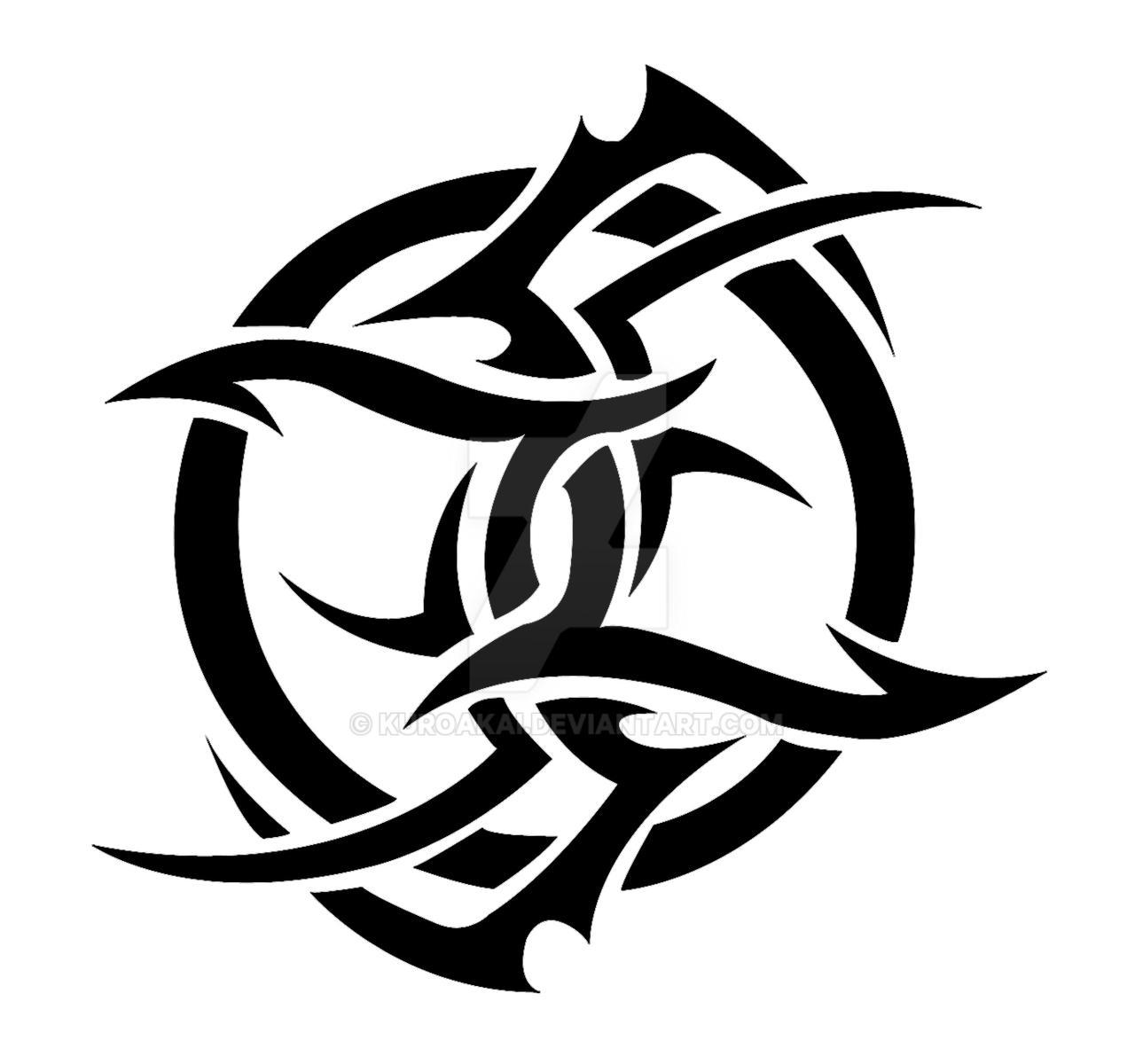 Tribal Gemini Tattoos For Guys: Gemini Tribal By Kuroakai On DeviantArt