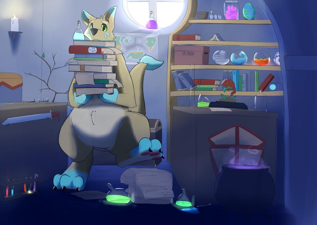 Lab work by TheFurret