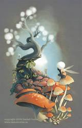 Mushrooms by RachelCurtis