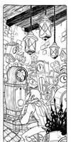 Clockmaker inks by RachelCurtis