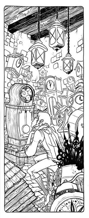Clockmaker inks