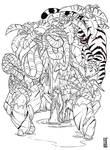 Jungle- Inks