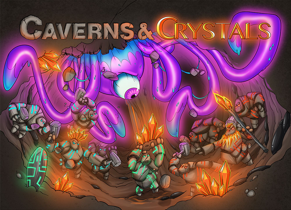 Caverns and Crystals by RachelCurtis