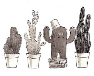 Day 18 - Cactus by RachelCurtis