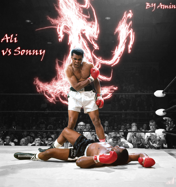 ali vs liston coloring pages - photo#7