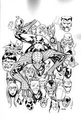 Spidey cover by Guile