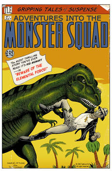 Monster Squad Cover Number 1