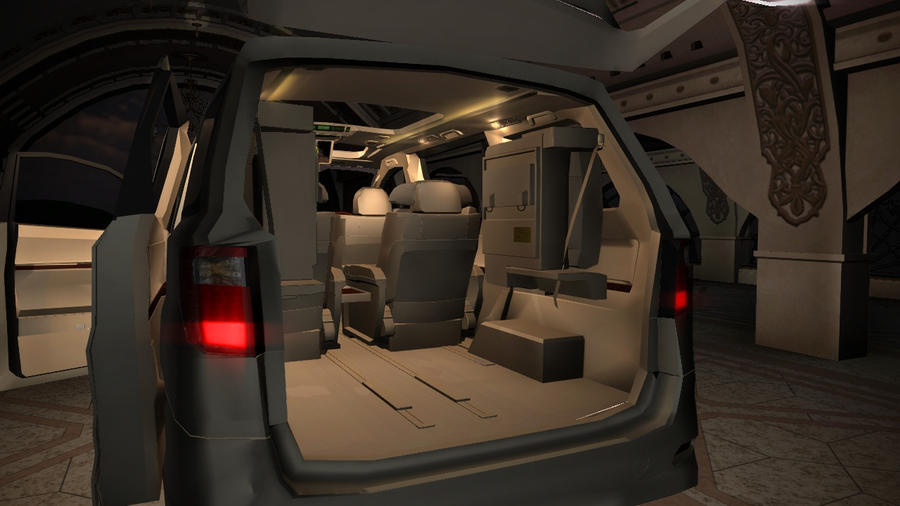 toyota alphard vellfire ggh20 zenki interior 7 by cargrap on deviantart. Black Bedroom Furniture Sets. Home Design Ideas