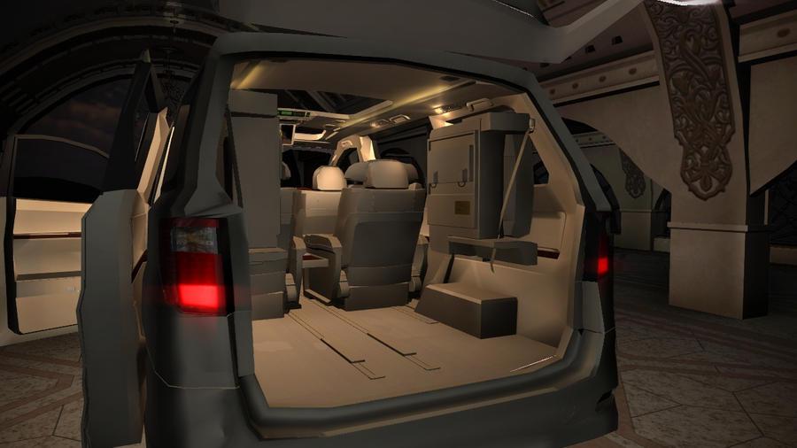 Interior Toyota Alphard Vellfire
