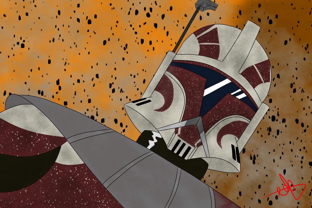 Star Wars - Captain Keeli by Frosty-Art