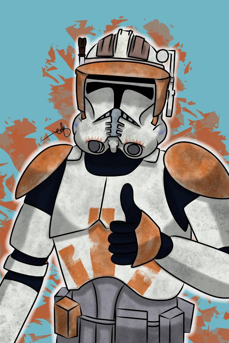 Star Wars - Commander Cody #2 by Frosty-Art on DeviantArt