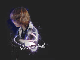 Wallpaper 06 - Heechul by Byakushirie