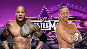 The Rock VS Shawn Michaels