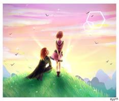 Future Keyblade Masters ~ Kingdom Hearts by Jvju112