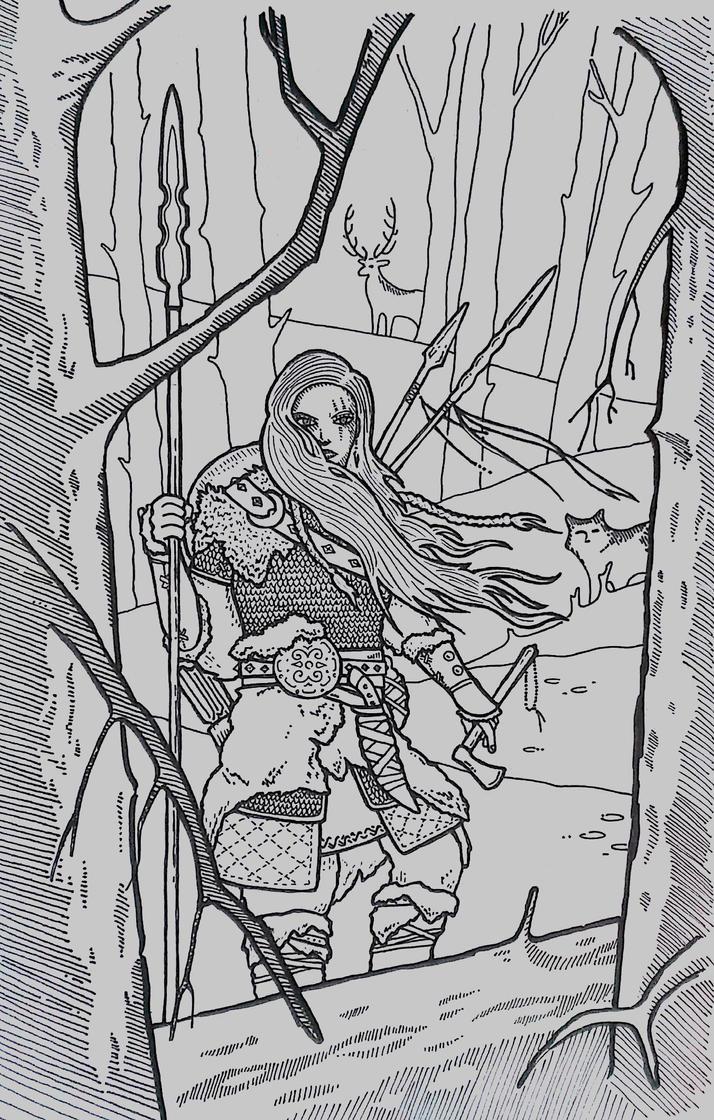 Huntress by ahmet-gonen